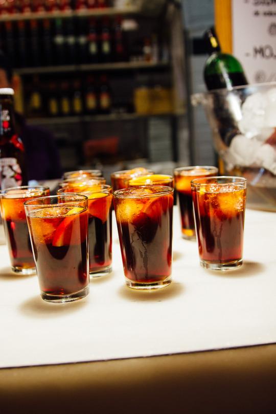 food tour Madrid Spain sangria