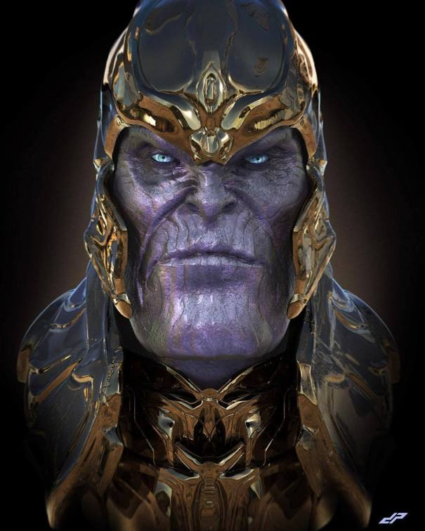 THANOS  Some more render practice with KeyShot    #dopepope