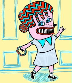 Gota shake your moneymaker! #art #draw #doodle #drawing #digitalart #perthcreatives #perthartist #doodlesofinstagram #lowbrow #artwork #retro #comic #cartoon