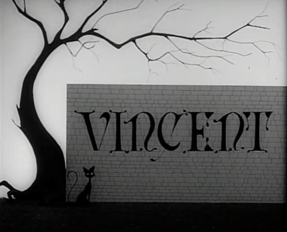 Tim Burton, Vincent, 1982, opening credit