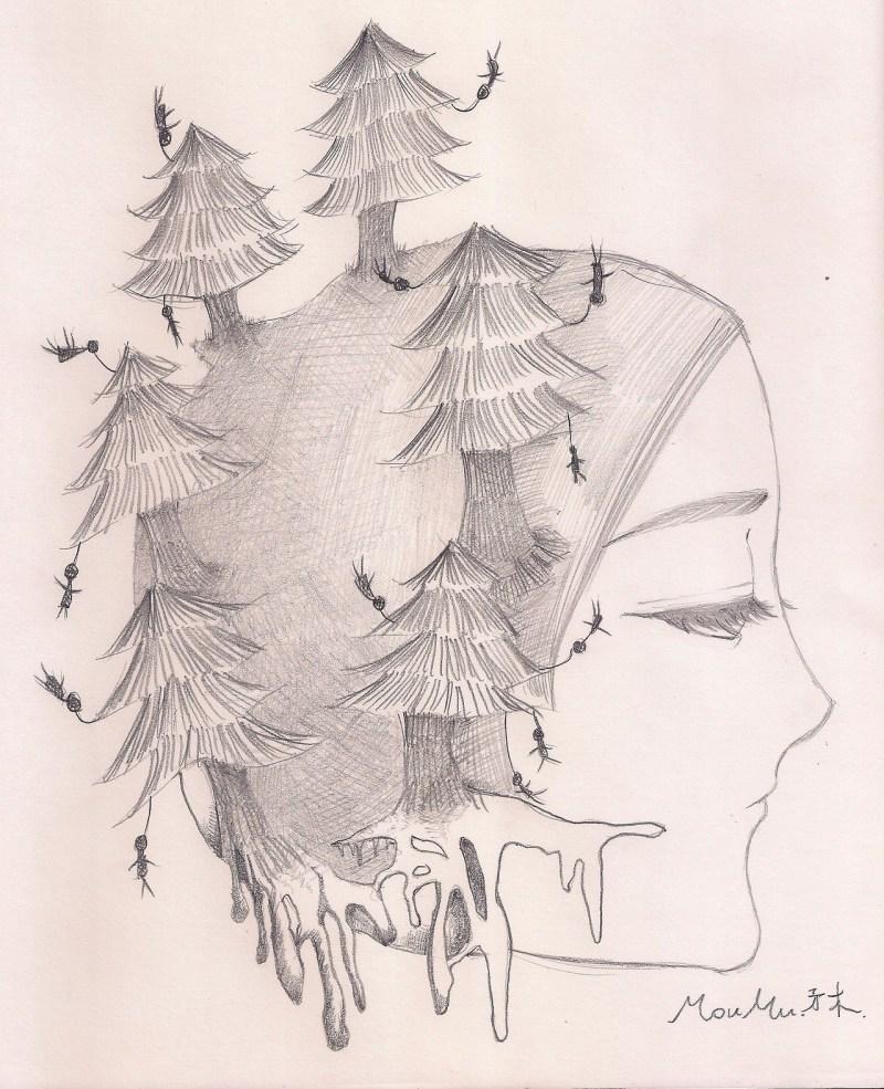 [ MOUMU ART ] Black Forest moumudo.com