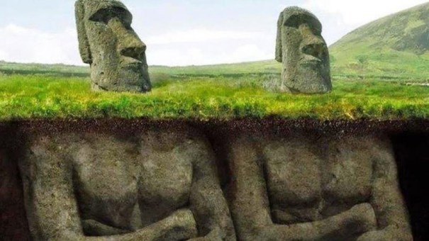 The hidden secrets of the moai the famous easter island for Moai fish tank