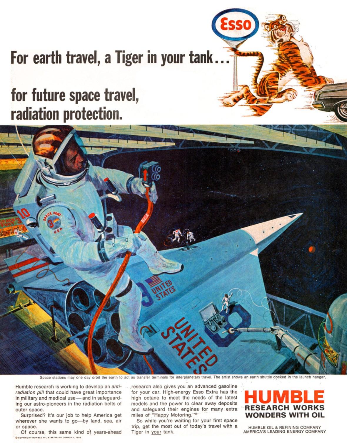 Humble Oil/Esso - 1966