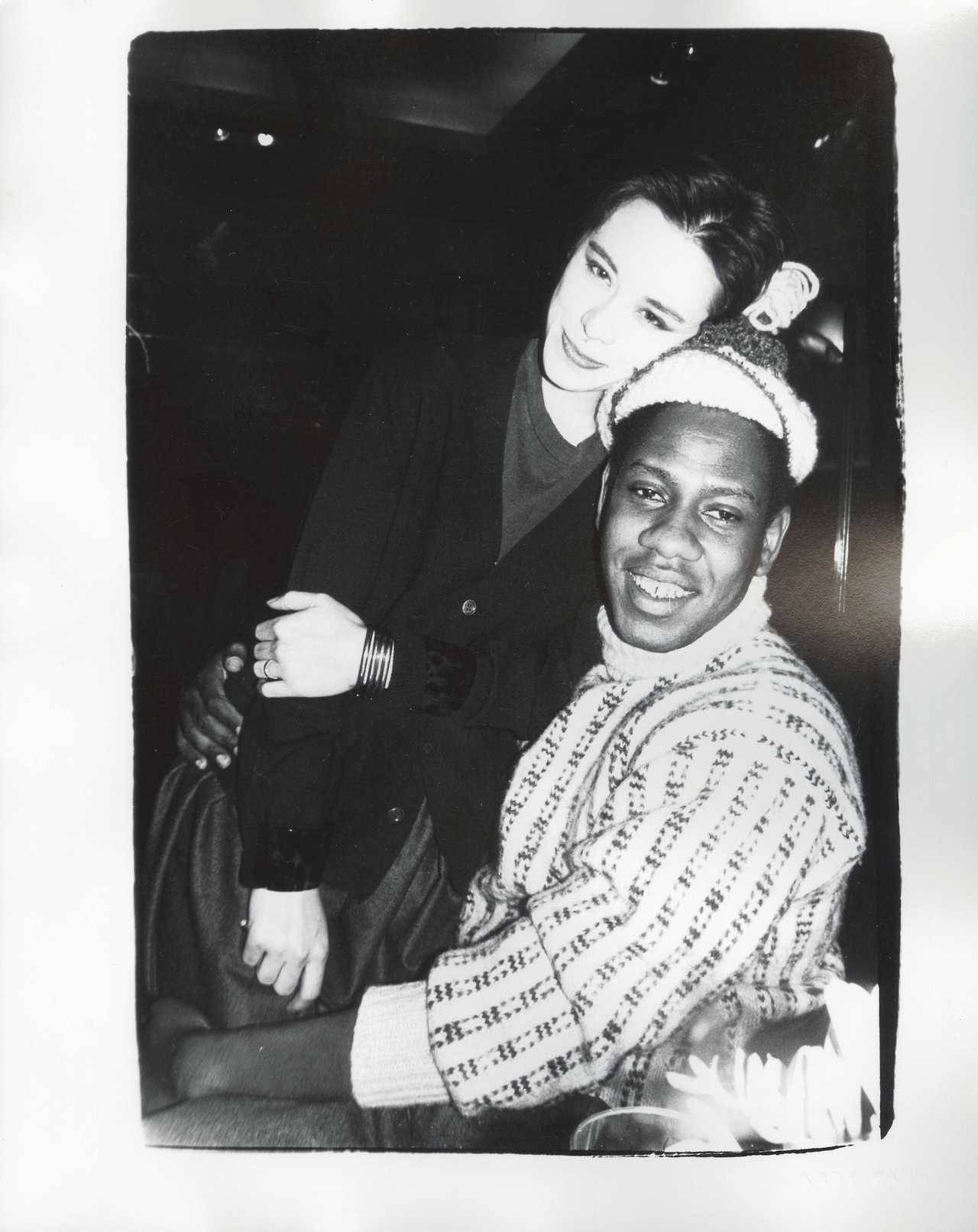 b3061f169 Tina Chow with Andre Leon Talley by Andy Warhol (1980) – Vintage Stuff
