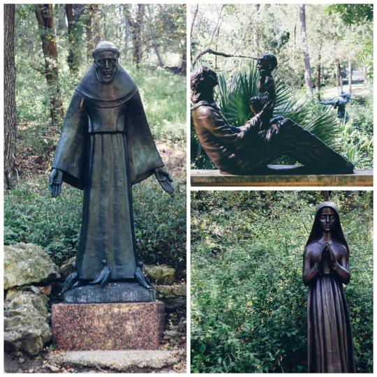 Umlauf sculpture Garden in Austin