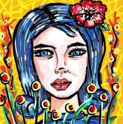 Digital doodles on a Friday night #doodle #drawing #digitalart #perthcreatives #perthartist #doodlesofinstagram #lowbrow #artwork #art #doodles #colourpop #perthpop #perthstyle