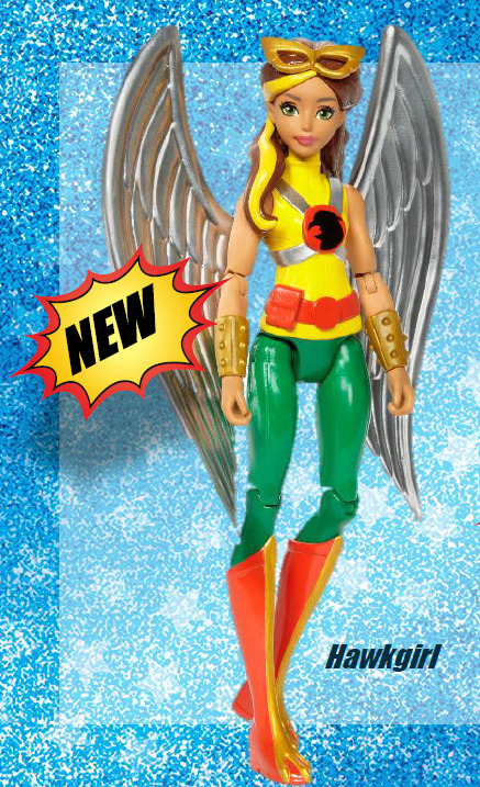 #dc superhero girls #hawkgirl DC Superhero Girls Hawkgirl Doll 2017