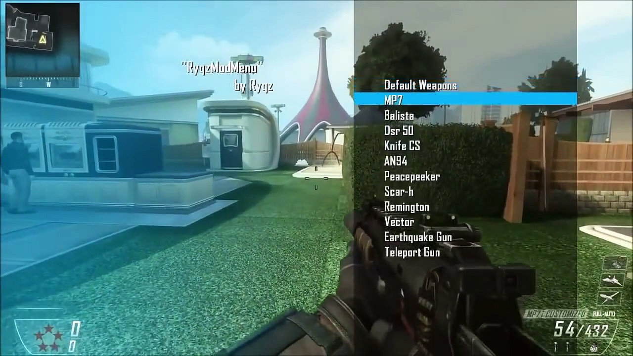 Mode Menu Bo2 Xbox One