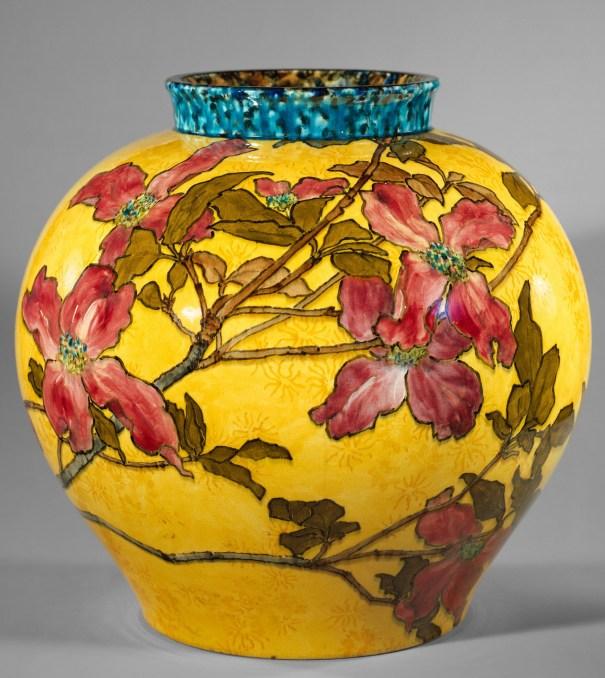 John Bennett Vase 1882 Details Art