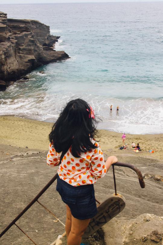 Big Island sightseeing, three days in Big island, beaches on Big island