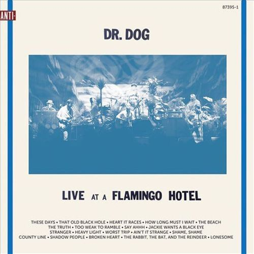 I can't stop listening to Live at a Flamingo Hotel by Dr. Dog! Their sound is amazing, and unlike any other band I've listened to, and if I close my eyes and pretend hard enough, I feel like I'm actually listening to them live…hopefully someday soon!...