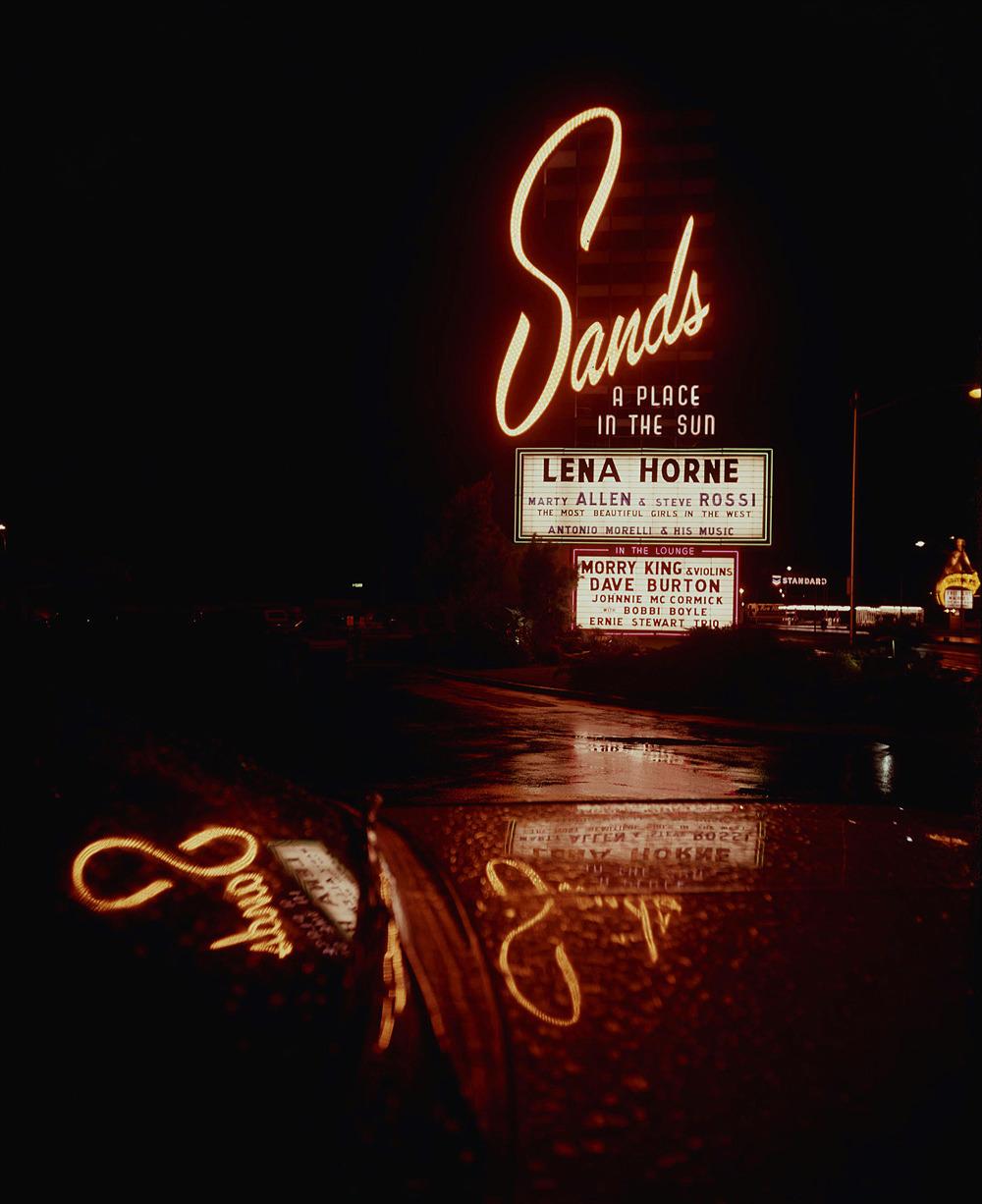 Sands Hotel and Casino - Las Vegas, Nevada U.S.A. - November 1961