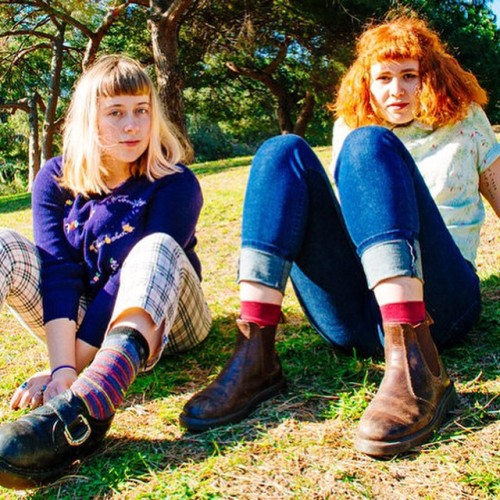 "fyffest: ""JUST ANNOUNCED: Girlpool will be playing their album release show for the upcoming record ""Before the World Was Big"" at the Center for the Arts, Eagle Rock on Monday, June 1st. All attendees will receive a special mixtape created by Harmony..."