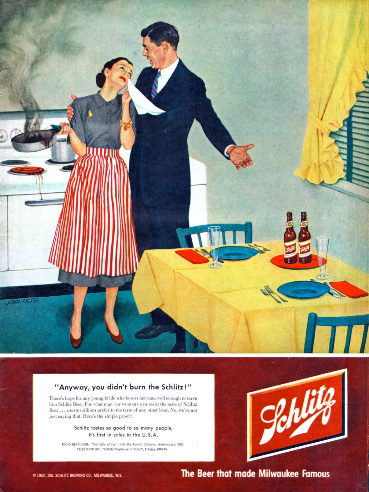 Joseph Schlitz Brewing Company - 1952