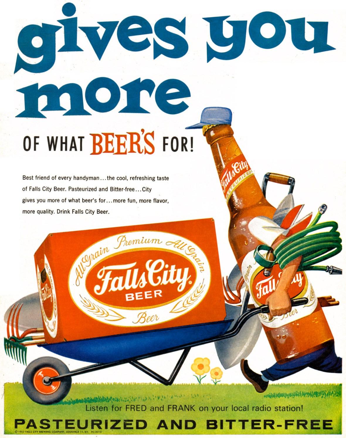 Falls City Beer - 1963