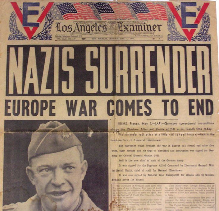 Image result for may 1945 germany surrenders ending world war ii in europe
