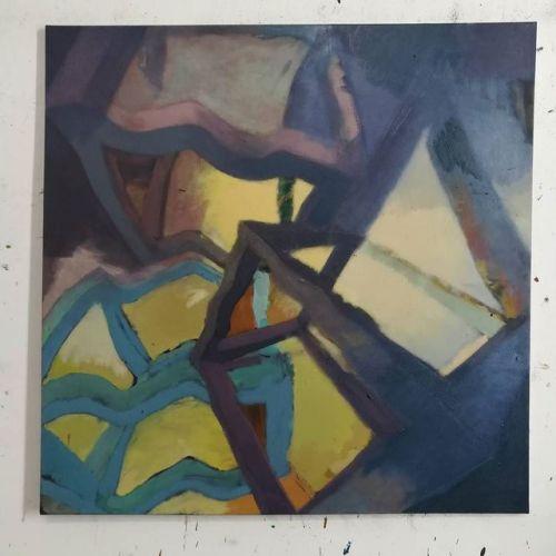 100x100cm, #EggtemperaOil #oiloncanvas #oilpainting #instaart #painting #stateoftheday #contemporaryart #peinture #fineart #berlinart #christophkern #malerei #contemporarypainting #abstractart