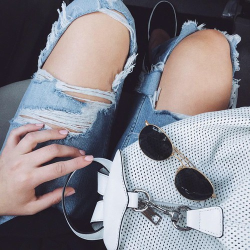 $20.99 Stylish ripped jeans. Get it »here« !