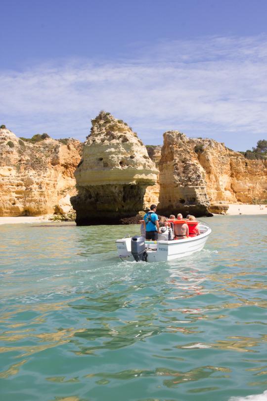 Explore Algarve Portugal Benagil sea caves travel