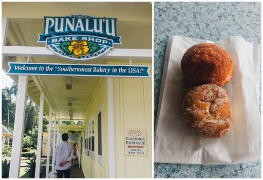 Punalu'u bake shop, Hawaii, 3 days in Big Island