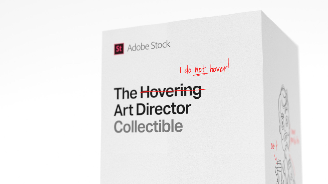 The Hovering Art Director Action Figure Recognising the dynamic between hard-pressed designers and their indecisive art directors, ACHTUNG! mcgarrybowen and Adobe are launching a competition to win the Hovering Art Director action figure. This highly... -