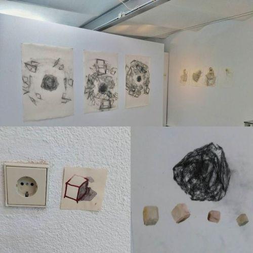 Werkschau. Exhibition till August #Gallery #munich #instaart #drawing #contemporaryart #fineart #berlinart #christophkern #malerei #contemporarypainting #abstractart