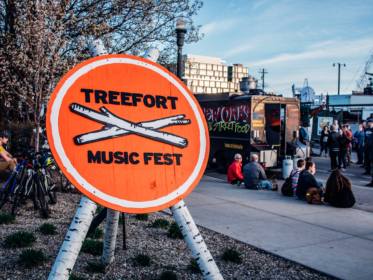 Treefort Classic for the street team! AS