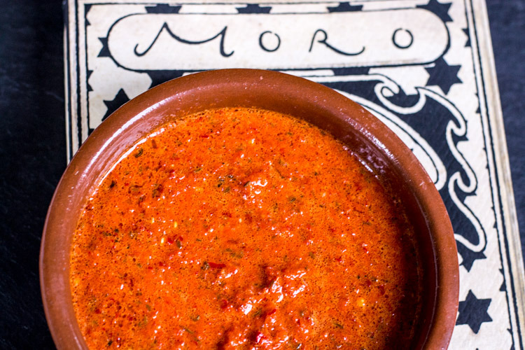 Harissa via the Moro Cookbook.