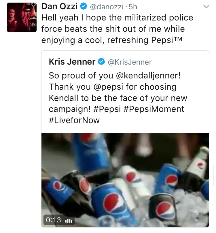 "nabyss: ""loubeesarmy: "" andinthemeantimeconsultabook: ""The Best of Twitter dragging Pepsi™ and Kendall Jenner's ignorant ass for that horrendous new ad they just released. "" How y'all gonna defend her ass? ""She is just doing her job"" ""She has no..."