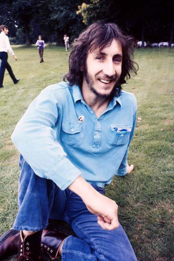 Adorable Pete Townshend at the July 1971 press launch of Who's ...