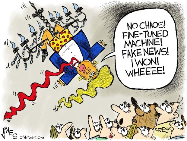 (cartoon by Clay Jones)