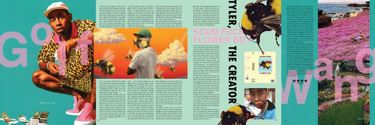 Scum Fuck Flower Boy Review Tyler the Creator
