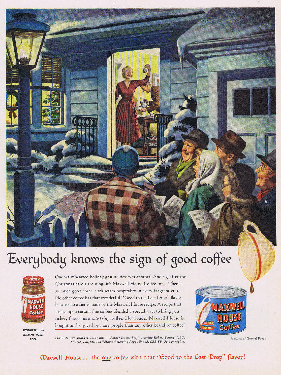 Maxwell House - 1950