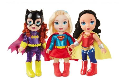 #dc superhero girls #toddler #jakks pacific DC Superhero Girls Toddler Dolls #batgirl #supergirl #wonder woman