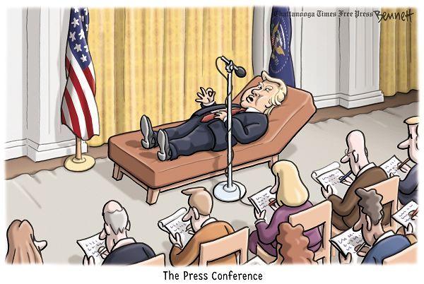 (cartoon by Clay Bennett)