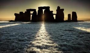Stonehenge at Christmas time
