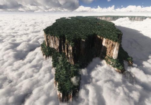 The Breathtaking Tabletop Mountains of Venezuela.