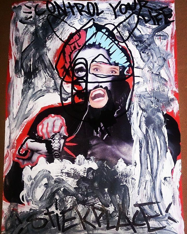 streetartglobal:  Cool piece by #stiekpalace#globalstreetart #wallart #graffiti http://globalstreetart.com/stiekplace https://www.instagram.com/p/BPzjjCFgwh0/