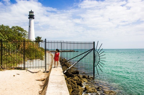 Key Biscayne, lighthouse, Things to do in Miami, Miami itinerary