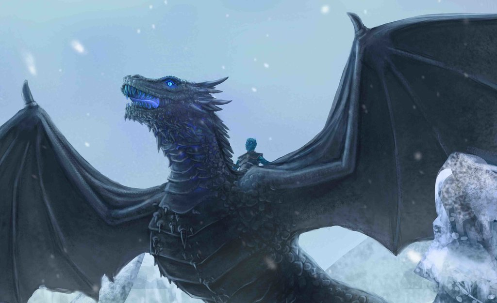 Game of thrones ice king dragon