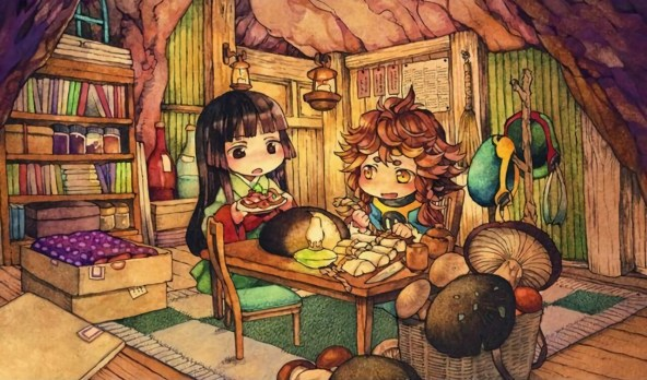 """Hakumei to Mikochi"" Anime Series"