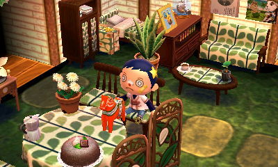 Those animals don't cross themselves... - Main room with ... on Animal Crossing Living Room Ideas  id=67527