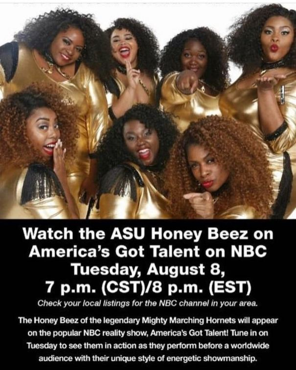 efe8cce6b5541 Alabama State University Honey Bees will be on America's Got… – Dance