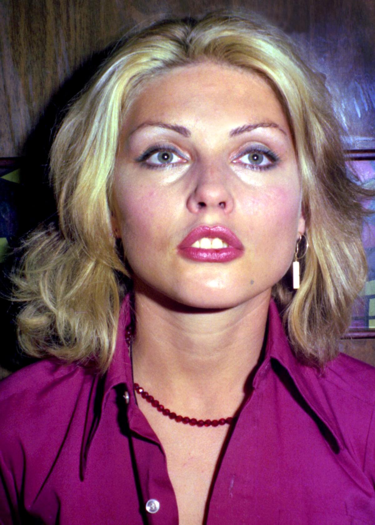 Debbie Harry, 1975, by Paul Zone – Glamrock