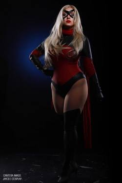 Ms. Marvel by CanteraImage  Check out http://hotcosplaychicks.tumblr.com for more awesome cosplay