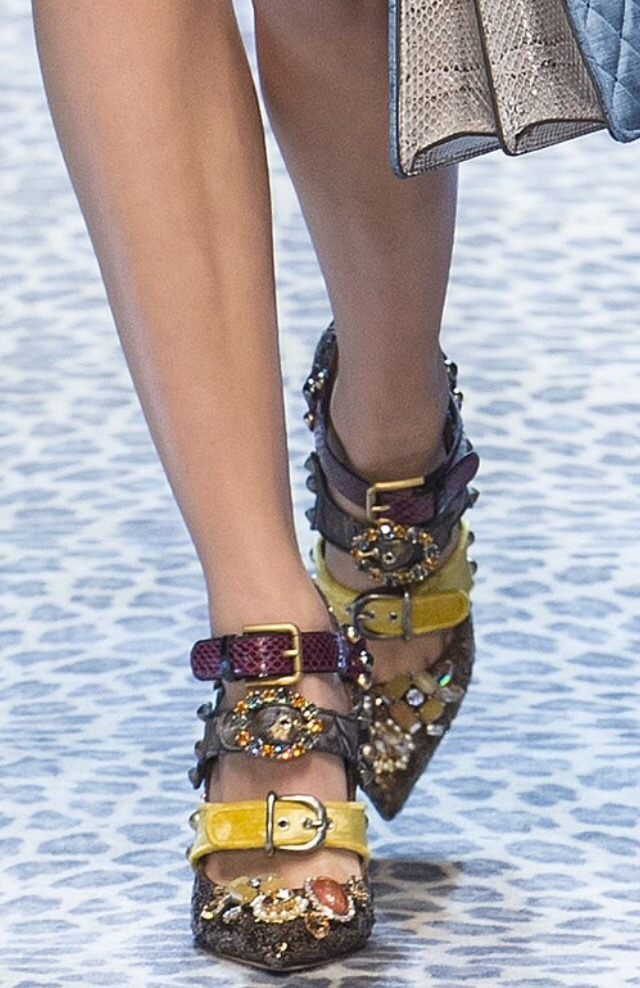 notordinaryfashion:Dolce & Gabbana Shoes F/W 2017
