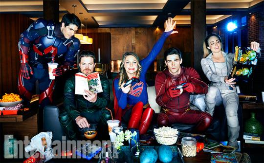 CW Superhero Hang Out