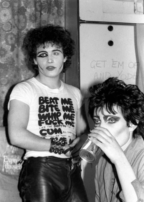Check Out What Siouxsie Sioux and Adam Ant Looked Like  in 1977