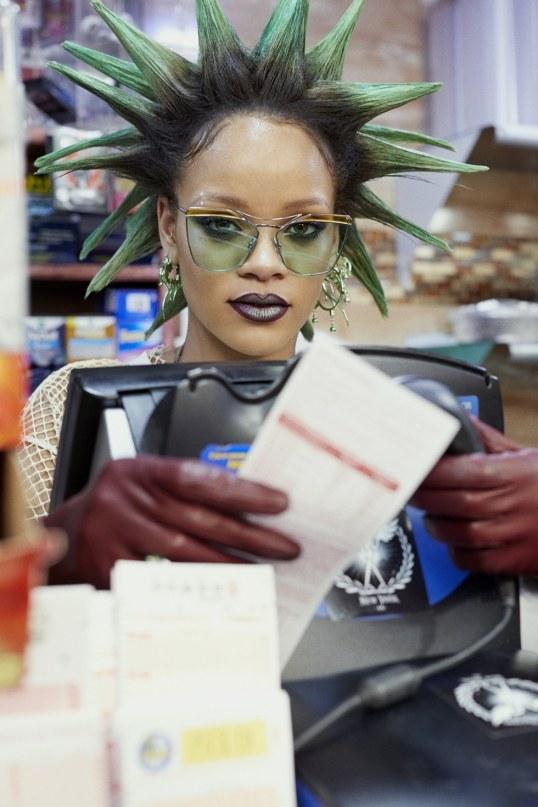 """celebsofcolor: """"Rihanna for PAPER Magazine """""""