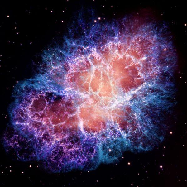 Nox Vigilata: Crab Nebula in the constellation Taurus
